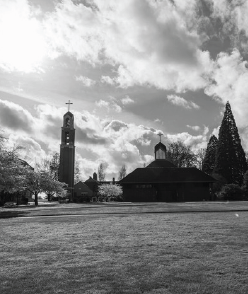 Image of belltower on campus