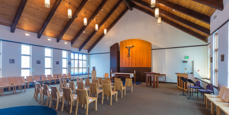 Haggerty And Tyson Halls, St. Andre Bessette Chapel
