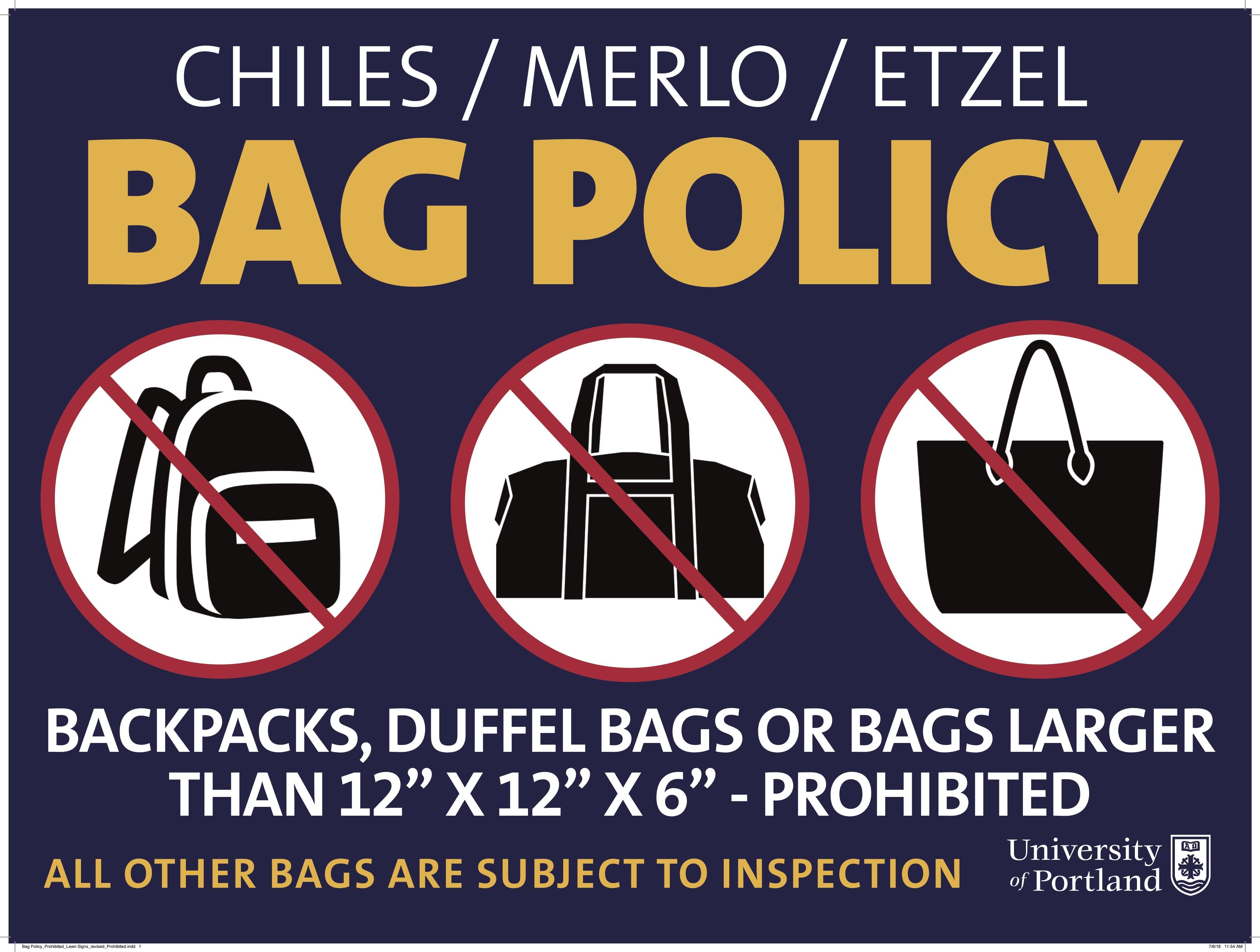bag policy image