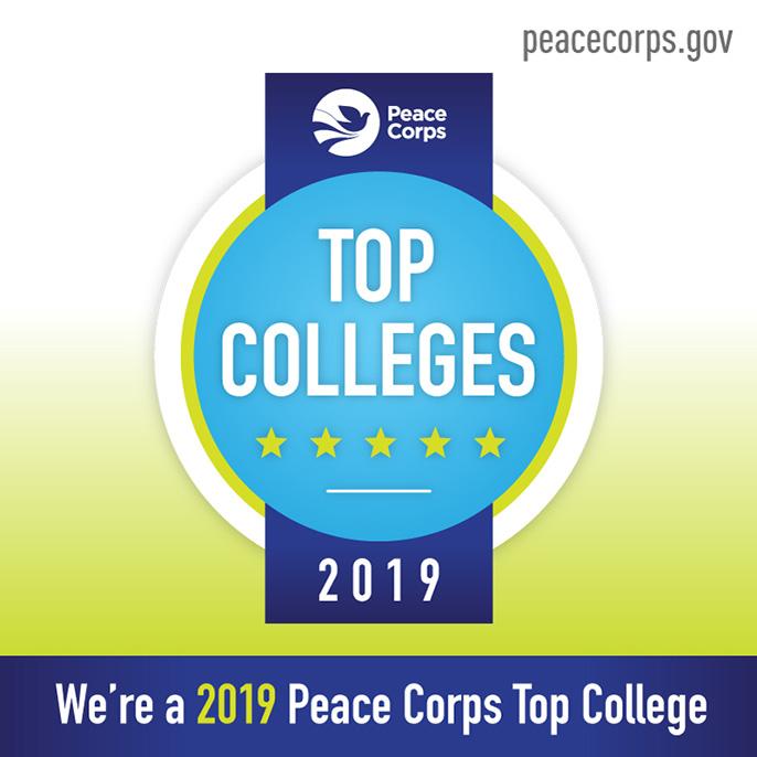 a46f9f5e818bbe graphic says Top Peace Corps school