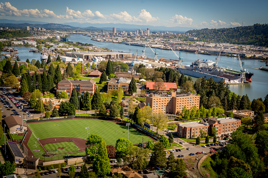 University of Portland ranked 6th in the West by 2018 U S