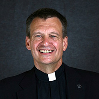 photo of Fr. James King, C.S.C.